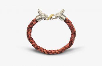 Tier-Armbänder: Hasen, 925er Silber, 750er Gold