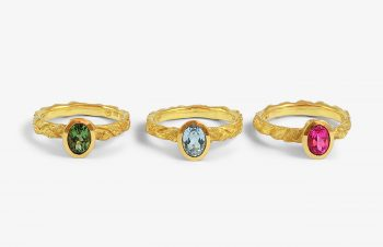 Klassische Ringe: Turmalin, Aquamarin, Rubelit