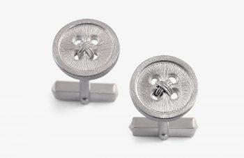 Manschettenknöpfe: Knöpfe, 925er Silber