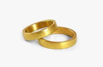 Verliebt, Verlobt, Verheiratet: Eheringe, 750er-Gold