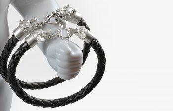 Tier-Armbänder: Hunde, 925er Silber