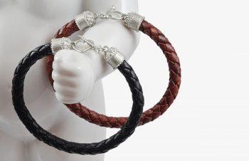 Tier-Armbänder: Liebespfeil Silber
